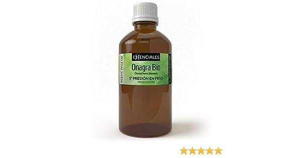 Essenciales - Aceite Vegetal de Onagra BIO, 100% Puro y ...