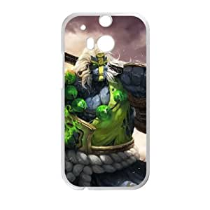 HTC One M8 Cell Phone Case White Defense Of The Ancients Dota 2 EARTH SPIRIT 002 LWY3559241KSL