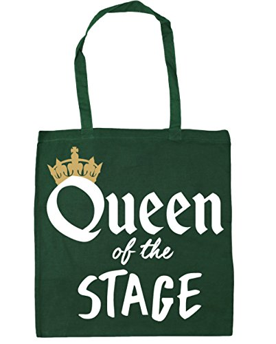 Tote Green Shopping HippoWarehouse the Bottle x38cm Stage Bag Queen litres 10 of 42cm Gym Beach qwgZIfRx