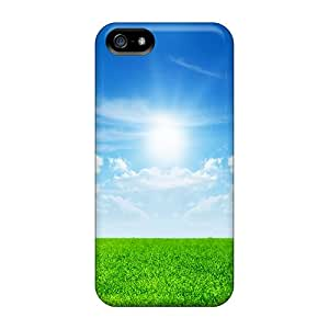 High Quality Shock Absorbing Cases For Iphone 5/5s-sunny Bright Day