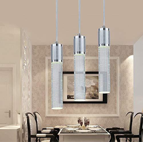 FidgetKute LED Bubble Crystal Ceiling Light Dining Room Pendant Lamp Lighting Chandelier Single-headsingle-Head by FidgetKute