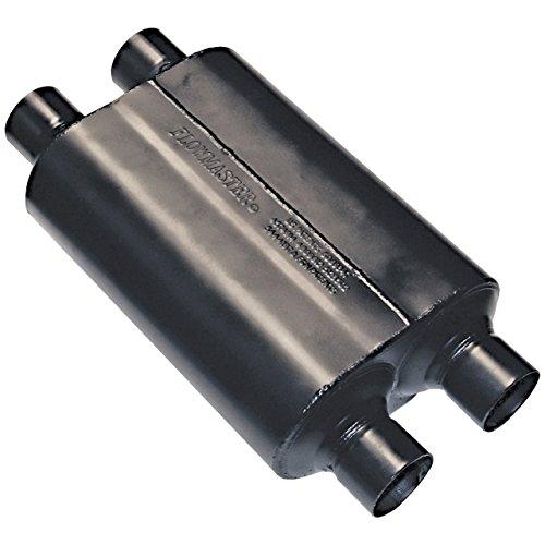 Super 40 Muffler - Flowmaster 9525454 Super 40 Muffler - 2.50  Dual IN / 2.50 Dual OUT - Aggressive Sound