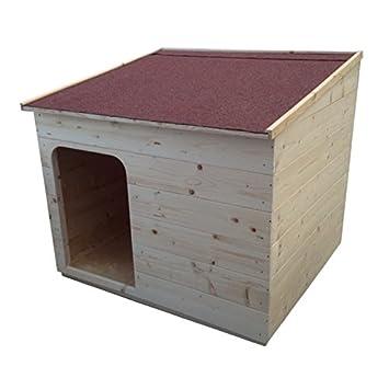 Casa caseta para perro Litera de madera Mis. 113 x 99 cm para perros y gatos: Amazon.es: Deportes y aire libre