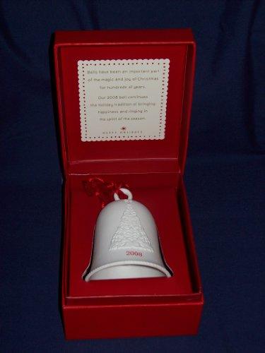 Hallmark Happy Holidays Porcelain Dated Bell 2008