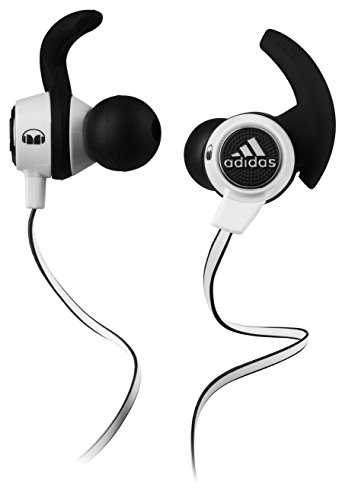 adidas Sport Supernova by Monster In-Ear Headphones, White/Black