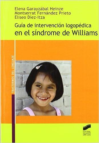 Guia De Intervencion Logopedica En El Sindrome De Williams Elena