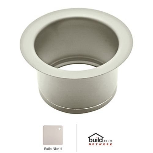 Rohl ISE10082STN 2-1/2-Inch Extended Throat for Fireclay Sinks and Shaws Sinks in Satin Nickel