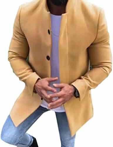 4a20bb54b78 Shopping Yellows - Wool   Blends - Jackets   Coats - Clothing - Men ...