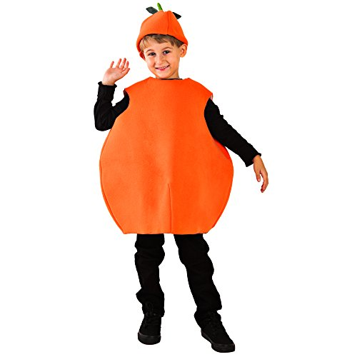 Wilton Child Orange Costume Size 8-10 -