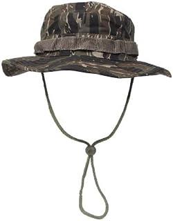 armyoutdoorshop MFH junglehat Boonie Hat Tiger Stripe Australian cespuglio Cappello Tropici Cappello Deserto Cappello a Tesa Larga con Band S-XL