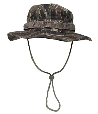 MFH Boonie Hat Australian Bush Hat tropical hat slouch hat with chin strap  cap S- 7921b92e89c9