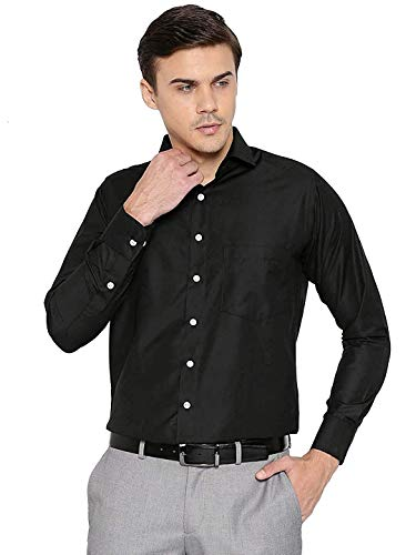 STYLETHIC Men's Solid Slim Fit Formal Shirts