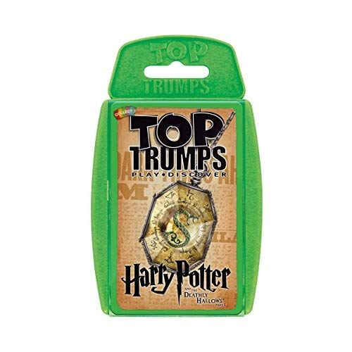 Harry Potter & The Deathly Hallows Part 1 Top Trumps Card - Card Games Potter Harry