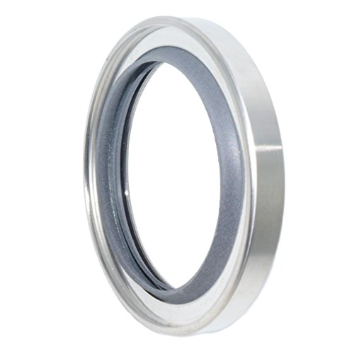 Rotary Screw Pump - Stainless Steel Shaft Seal with PTFE Double Lips for Rotary Screw Air Compressor (60-80-10 mm)