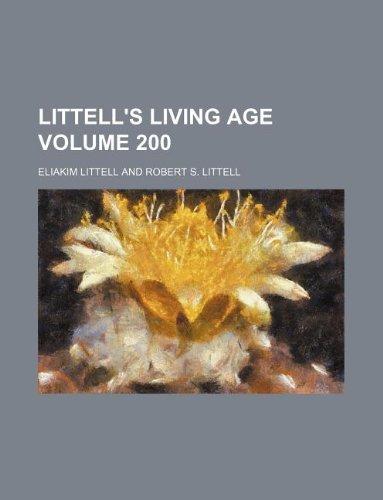 Read Online Littell's living age Volume 200 PDF ePub book