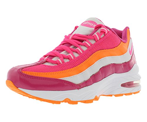 premium selection a09ac 6840a NIKE Air Max 95 Girl's Running Shoes Size US 7, Regular Width, Color  Pink/Orange