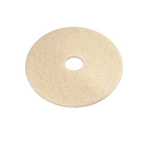e-line Bodenpolster 03.01.11.0013 aus Polyester, 330,2 mm Durchmesser, gebrochenes Weiß, 5 Stück