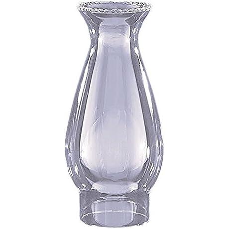Glo Brite By 21st Century L85 03 Beaded Chimney Globe Glass Oil Lamp