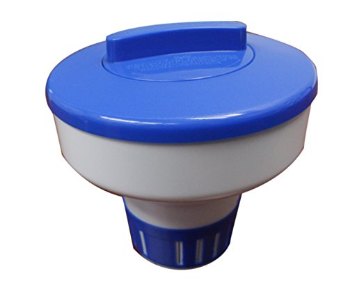 Floating Chlorine Feeders - Splash-A-Round Pools label SEC063 3