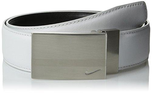 - Nike Men's SG Reversible Plaque Belt, White/Black, 40