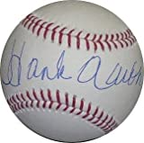 autographed Hank Aaron Ball - Official Major League Hologram - Steiner Sports Certified - Autographed Baseballs