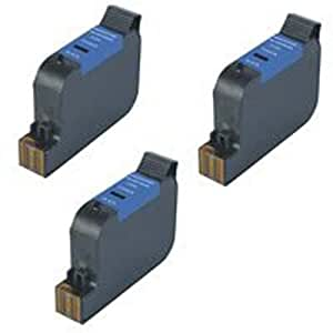 Amsahr 45(51645A) Remanufactured Replacement HP Ink Cartridges with 3 Black Cartridges