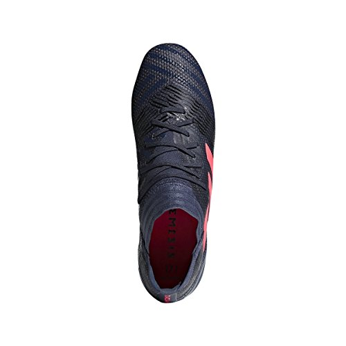 Adidas Nemeziz 17,1 Fg Cornamusa Azul Rastro De Fútbol Femenino / Cáscara De Color Rojo / Negro