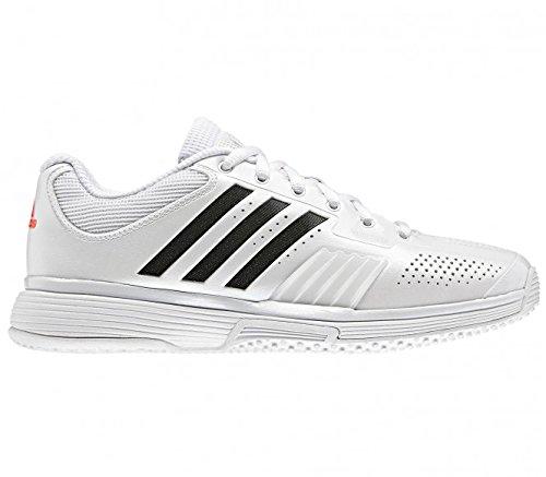 adidas–Zapatillas de tenis Adipower Barricade Mujer, blanco, UE 43 1/3 - UK 9 blanco