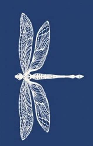 ARTOZ Artwork-Laser Cut Designs-Dragonfly 74x154mm White