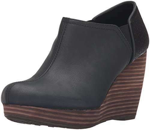 Black Platform Boots Cheap (Dr. Scholl's Shoes Women's Harlow Ankle Boot, Black, 6.5 M)