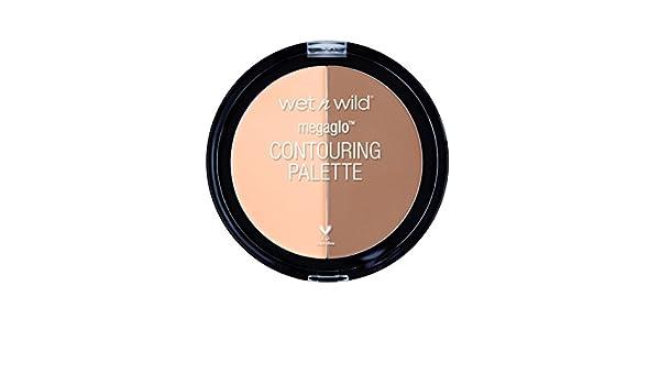 Amazon.com : MegaGlo Contouring Palette, Dulce De Leche by Wet n Wild : Beauty