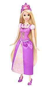 Amazon Com Disney Princess Glittering Lights Rapunzel