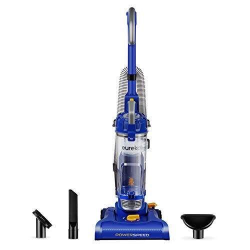 (Eureka NEU182A PowerSpeed Lightweight Bagless Upright Vacuum Cleaner, Blue)