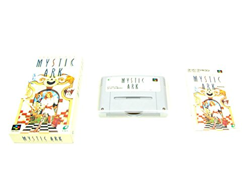 Mystic Ark, Super Famicom (Super NES Japanese Import)