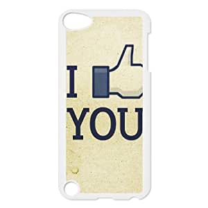 Boast Diy Ipod Touch 5 case cover Funny 95, Shock Absorbing Lovely sRfPtpEouP4 Fingers Vinceryshop, {White}