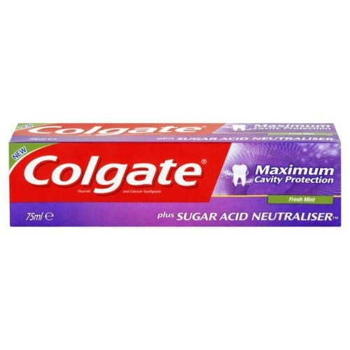 Price comparison product image Colgate Maximum Cavity Protection,  Remineraliztion,  with Sugar Acid Neutralizer (European Import) - 3 Count