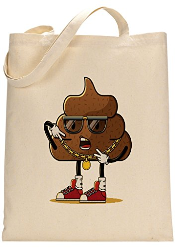 Funny Poo Custom Made Tote Bag