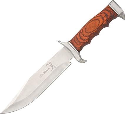 Amazon.com: Elk Ridge er-012 – Cuchillo de hoja fija 12.5 ...