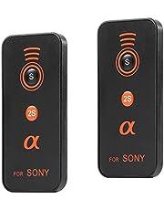 IR Control Remoto - SODIAL(R)Control remoto por infrarrojos inalambrico para Sony Series II a7, a7, A7R, A7S, A6000, A33, A55, A65, A77, A99, A900, A700, A580, A560, A550, A500, A450, A390, A380 , A330, A230 y Camaras DSLR y NEX-7, NEX-6 NEX-5T Camara Compacta (2 Piezas)