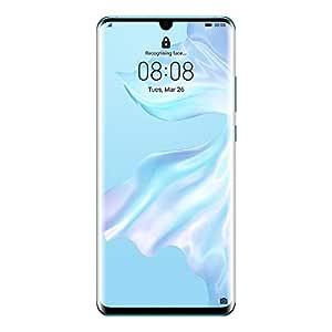 "Huawei P30 Pro Smartphone, Dual SIM, 6.47"", 128 GB, 8GB RAM - Breathing Crystal"