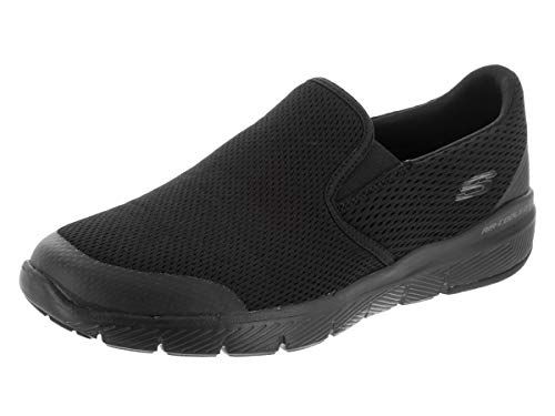 (Skechers Men's Flex Advantage 3.0 Morwick Black/Black 10.5 D US )
