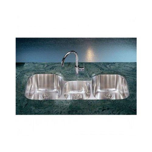 Franke RGX170 Regetta Triple Bowl Undermount Kitchen Sink