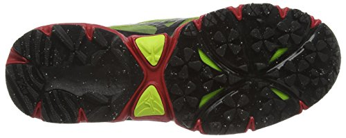 Mizuno Wave Mujin, Herren Laufschuhe Gelb (lime Punch/black/chinese Red)