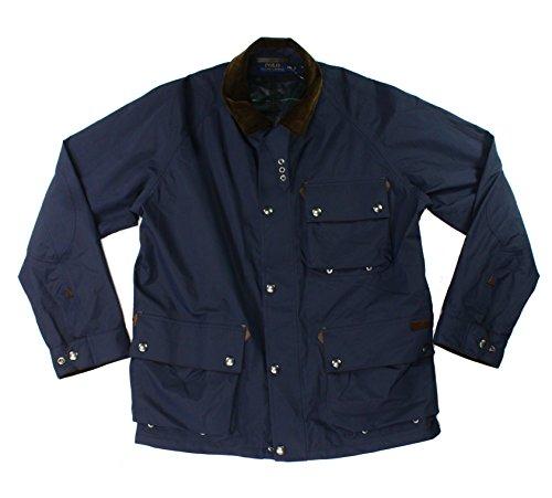 Ralph Lauren Top Coat (Polo Ralph Lauren Men's Full-Zip Coat Large Aviator Navy)