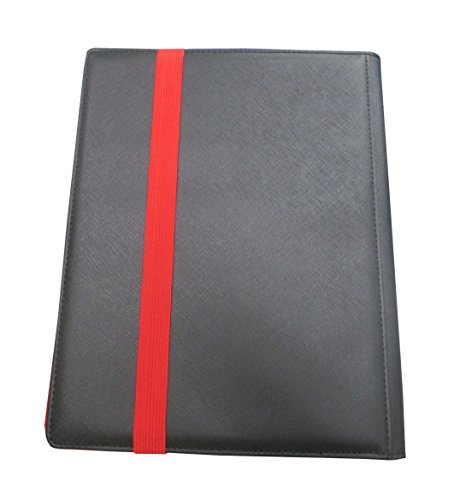 Dex Binder 9 Pocket Side Loading Black