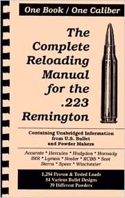 The Complete Reloading Manual for the  223 Remington (One
