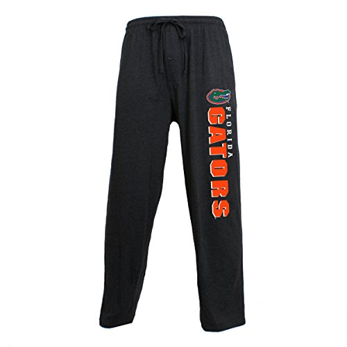Florida Gators Ncaa Spring - Concepts Sport Men's NCAA Knit Solid Pajama Pants with Logo-Florida Gators-Charcoal-XL
