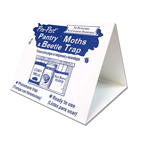 JF oakes Pro Pest Pantry Moth & Beetle Traps 2 Pre-Baited Traps