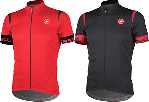 Castelli 2017//18 Mens Cento Full Zip Short Sleeve Cycling Jersey A17200