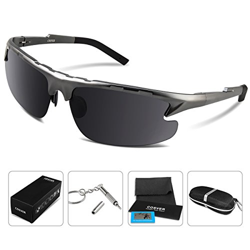 COSVER Polarized Sunglasses Driving Unbreakable